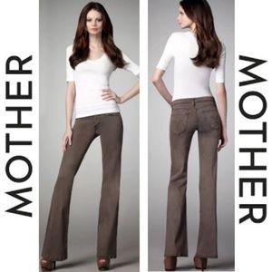 "MOTHER Denim | ""The Wilder"" Flares in Dye-Clay"